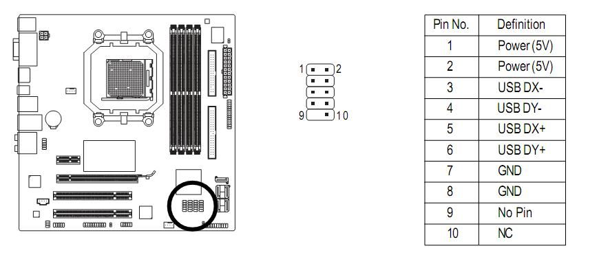 internal usb motherboard plug wiring diagram usb