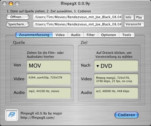 TÉLÉCHARGER FFMPEGX 0.0.9Y GRATUIT