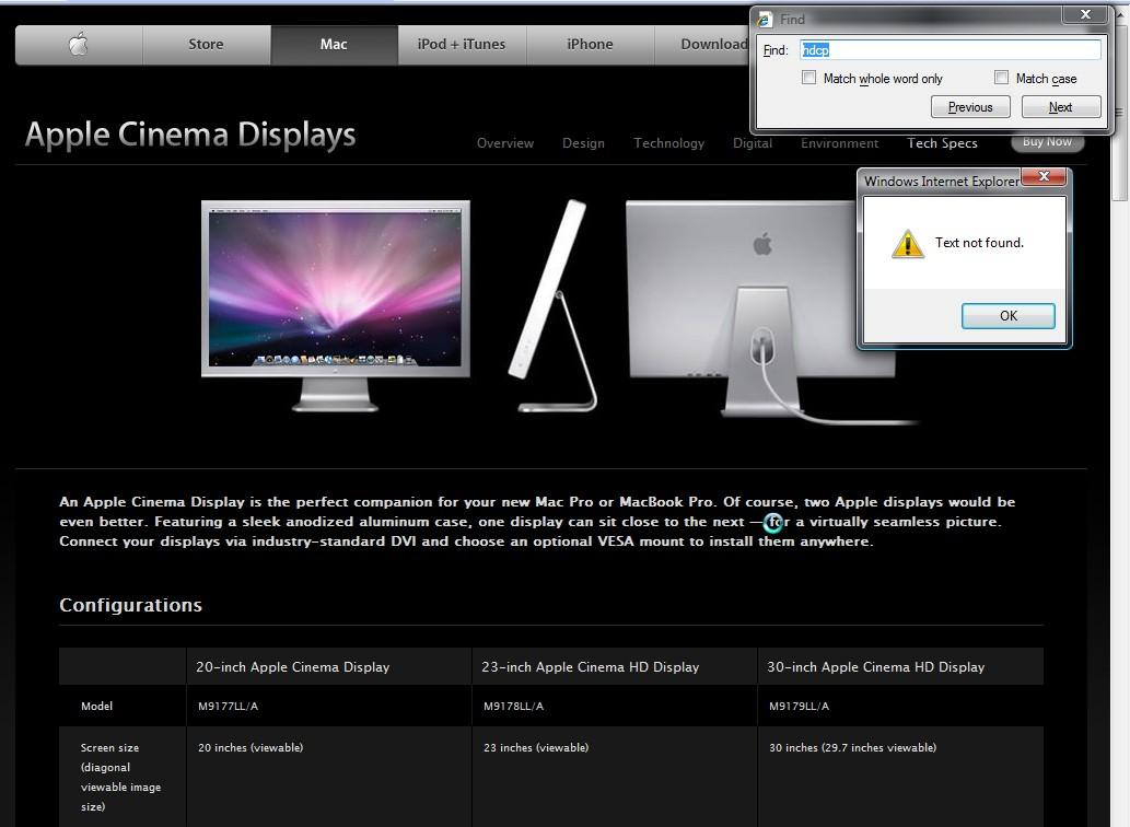Apple Cinema HD Display Drivers Download for Windows 10, 8 ...
