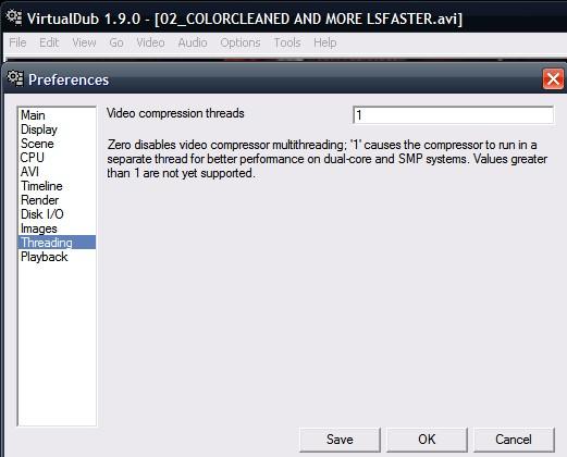 Threaded Compression In VirtualDub - VideoHelp Forum