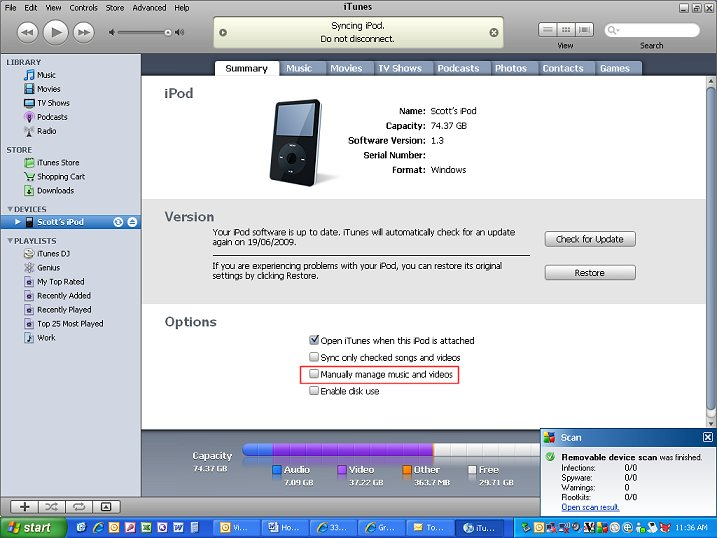 how to put downloaded mp3 files into itunes