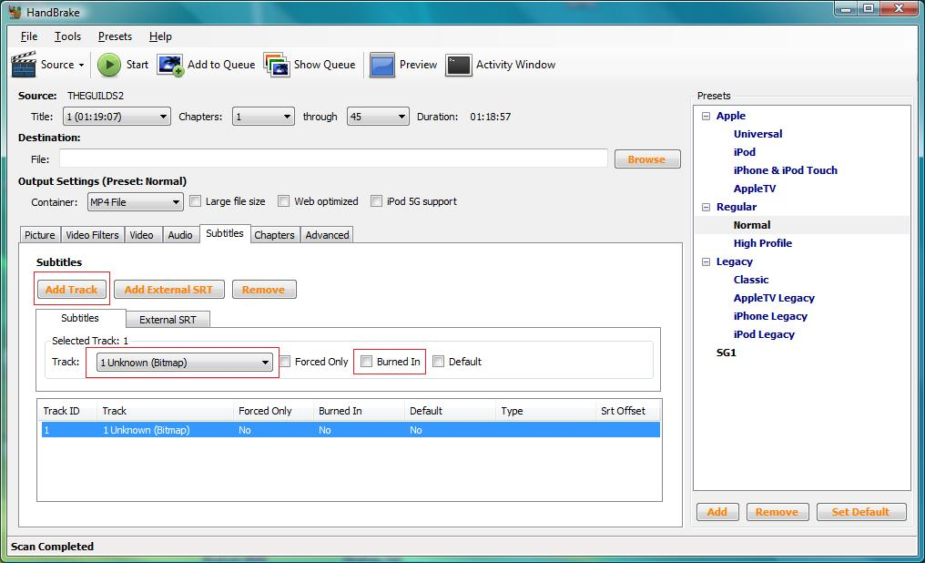 Backup DVD to mkv with soft subs - VideoHelp Forum